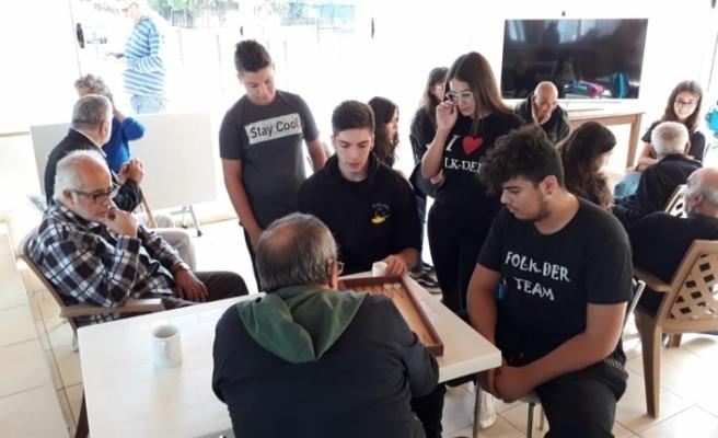 Genç Folk-Der, Lapta Huzurevi'ni ziyaret etti