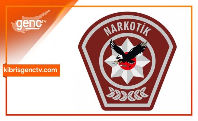 Girne'de uyuşturucu...5 tutuklama
