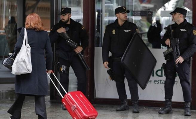 İspanya'daki bomba alarmının sebebi kemer tokası