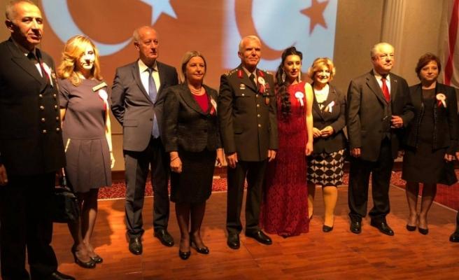 İzmir Başkonsolosluğu resepsiyon düzenledi