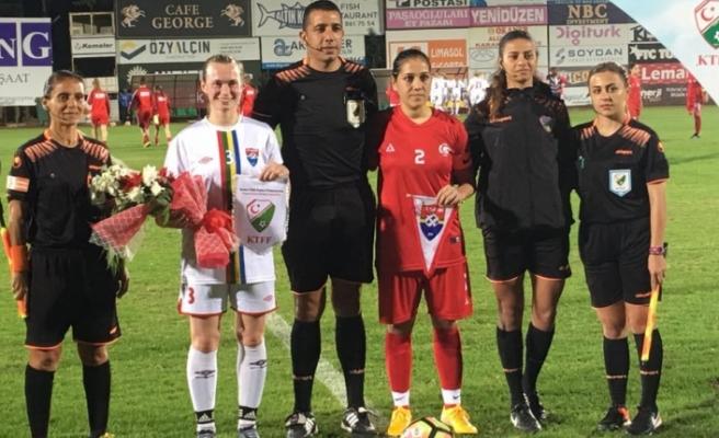 Kadın futbolunda ilk Milli maç