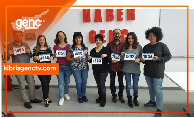 Kıbrıs Genç TV de koşuyor