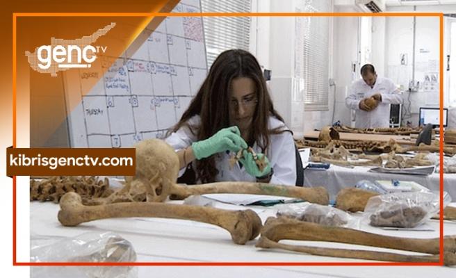 Kıbrıslı Türkün kemikleri ailesine verildi