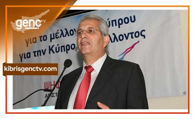 """Kiprianu'dan Anastasiadis'e: """"İki devletli çözümü görüşüyor"""""""