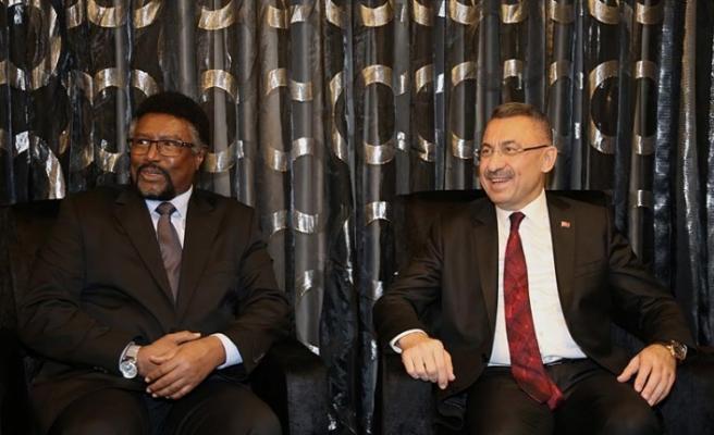 KKTC'de Somali Meclis Başkanı'nı kabul etti