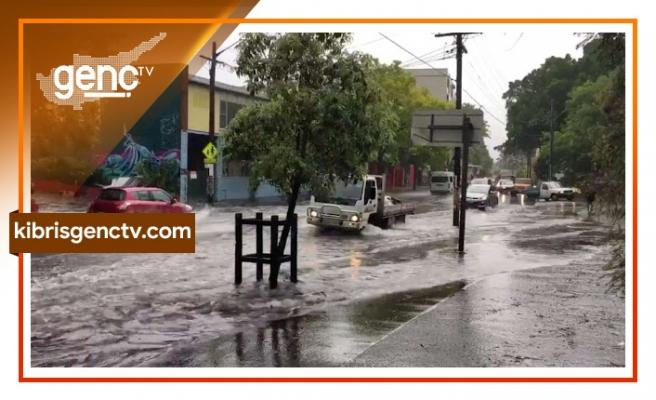 Kötü hava dalgası Baf'ta hasara yol açtı