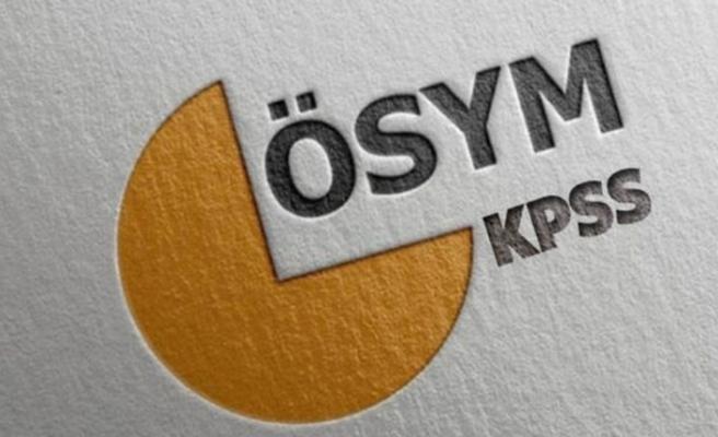 KPSS Önlisans Sınavı yapılıyor