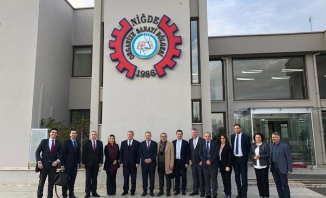 KTSO, YAGA ve Kalkınma Bankası heyeti Ankara ve Kayseri'de