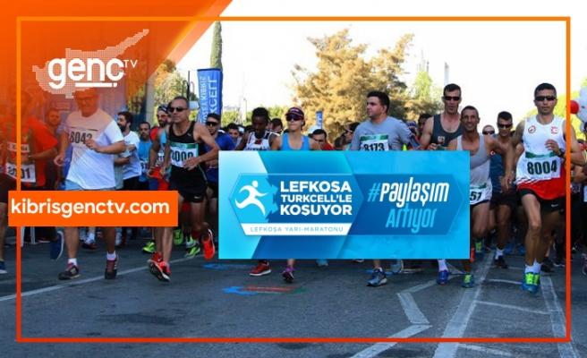 Maraton heyecanı Kıbrıs Genç Tv'de