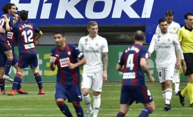 Real Madrid'e şok
