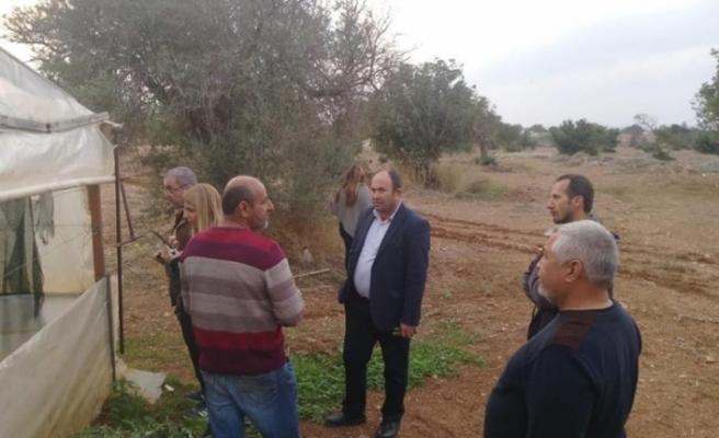 Tarım Dairesi Tatlısu'da üreticilere eğitim