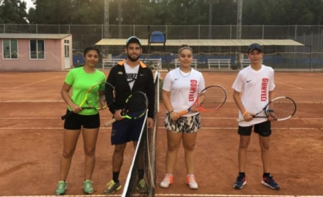 Tenis ligi başladı