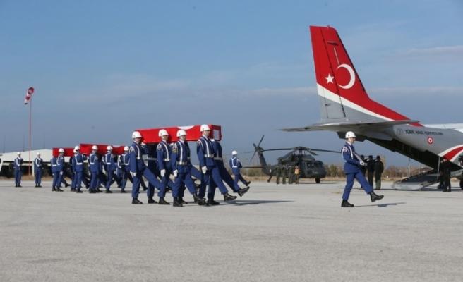 Türkiye, şehitlerini uğurluyor