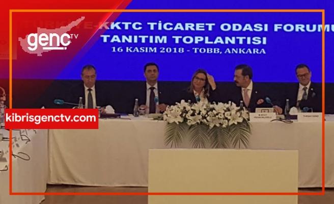 """Türkiye Ticaret Bakanı: """"Kapılar KKTC'li ihracatçılarımıza açıktır"""""""