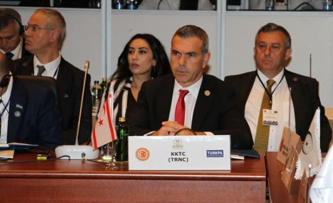 Uluçay,TÜRKPA Genel Kurulu'nda konuşma yaptı