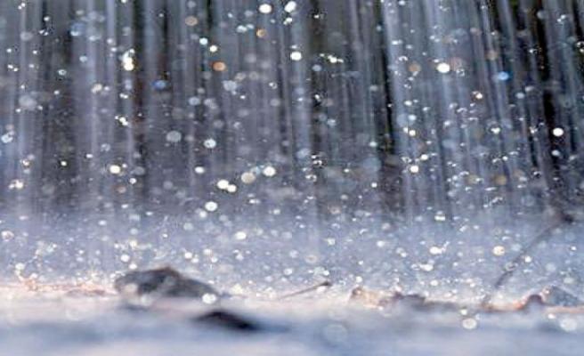 Zafer Burnu'na 19 kilogram yağış düştü