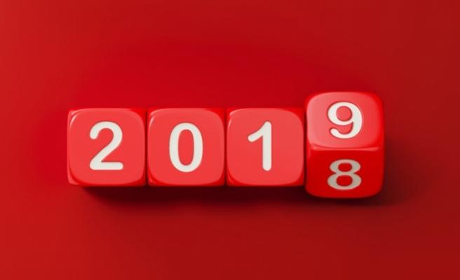 2018'in yılının sona ermesine sayılı saatler kaldı