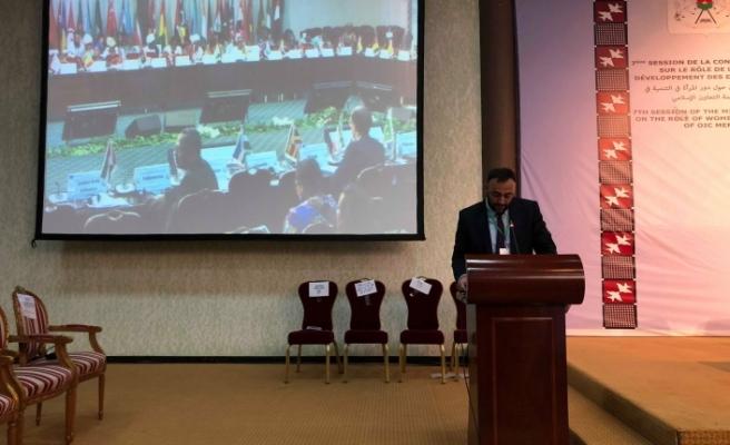 Çeler, İslam İşbirliği Teşkilatı toplantısında konuştu