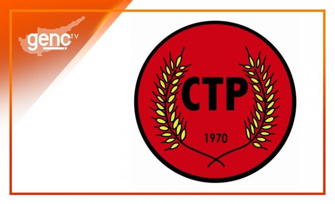 CTP'den geleneksel kuruluş yıl dönümü resepsiyonunu için iptal kararı