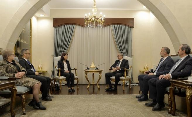 Cumhurbaşkanı  Akıncı, Kıbrıs Türk Tabipleri Birliği yönetimini kabul etti
