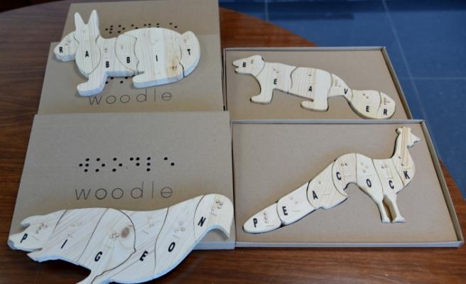 DAÜ'lü Akademisyenler görme engelliler için oyuncak tasarladı