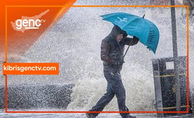 En fazla yağış Zafer Burnu ve Dipkarpaz'a düştü