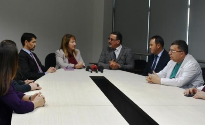 Engelli Hizmetleri Koordinasyon Kurulu,  Filiz Besim'i ziyaret etti