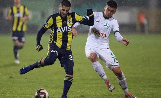 Fenerbahçe son 16 turunda
