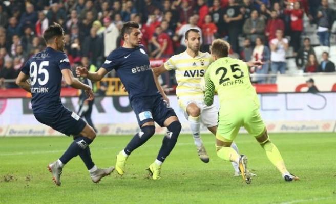 Fenerbahçe, Antalya'dan da istediğini alamadı