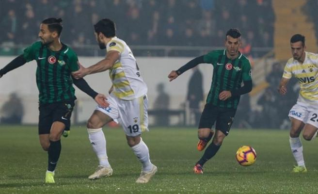 Fenerbahçe'de çöküş sürüyor...Yine puan kaybı