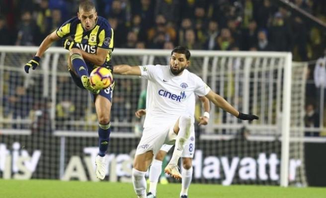 Fenerbahçe'den 1 puan