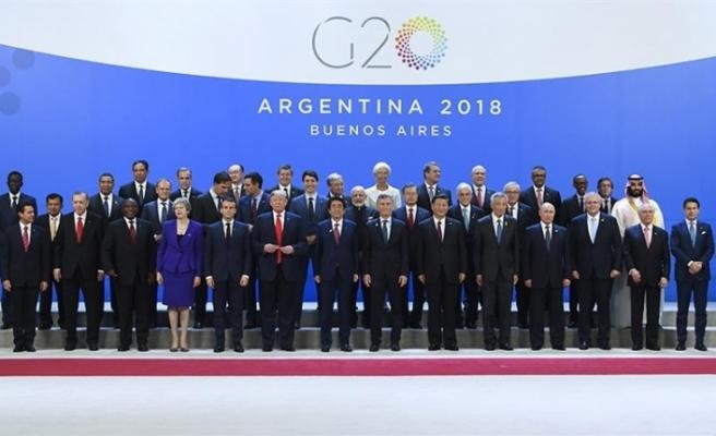 G20 Zirvesi'ne Ukrayna'daki kriz, ticaret savaşları ve Kaşıkçı cinayeti damga vurdu