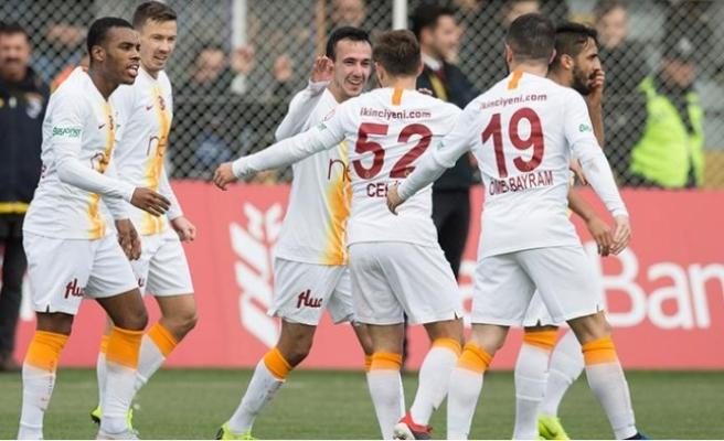 Galatasaray'a kupa morali