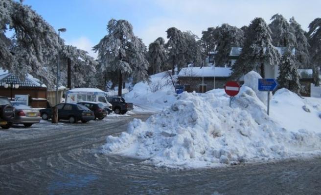 Kıbrıs Rum Meteoroloji Dairesi'nden kar uyarısı