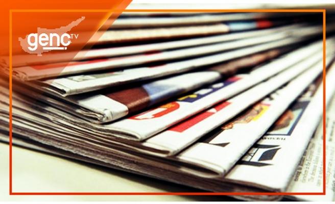 KKTC gazetelerinin manşetleri