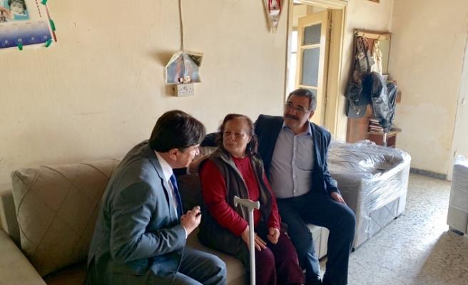 Lapta ve Dikmen'e Almanya ve Avusturya'dan yardım