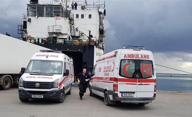 Mağusa Limanı'nda 21 kaçak göçmen bulundu