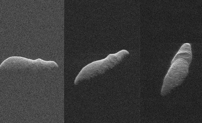 Radarlar Holiday Asteroidini görüntüledi