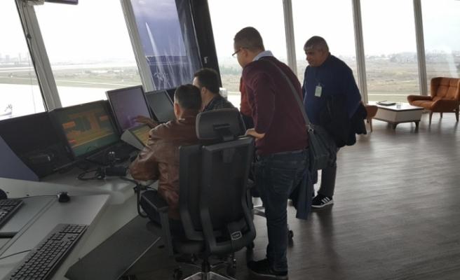Sivil Havacılık Dairesi hava trafik personeli, Antalya'da eğitimde
