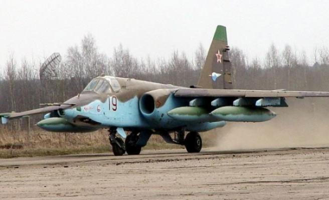 Su-25 savaş uçağı düştü