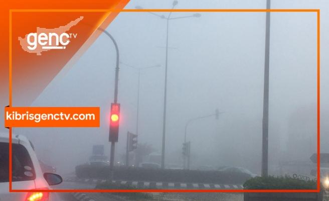 Sürücüler dikkat! Yoğun sis yüzünden görüş mesafesi azaldı