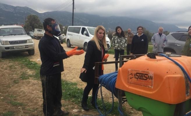 Tarım Dairesi, Ziyamet Köyü'nde eğitim verecek