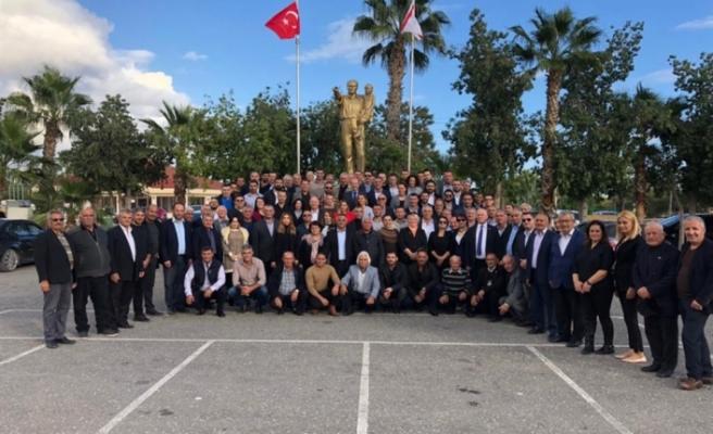 Tatar'dan İskele İlçe Başkanlığına ziyaret