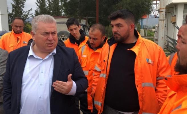 TKP Yeni Güçler heyetinden CAS çalışanlarına destek ziyareti