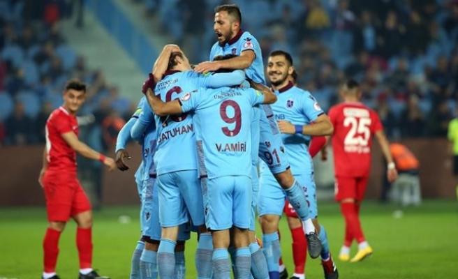 Trabzon'dan bol gollü tur