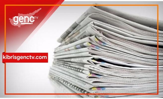 Türkiye gazetelerinin manşeti