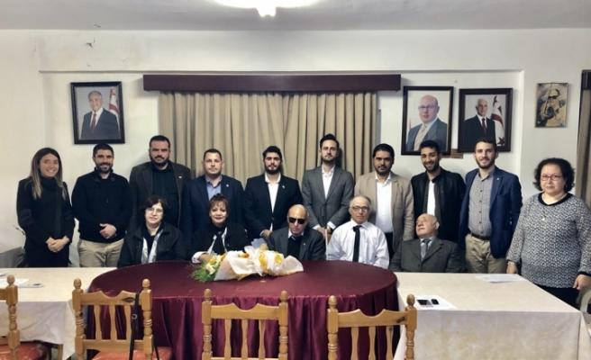UBP'den Engelliler Federasyonu'na ziyaret