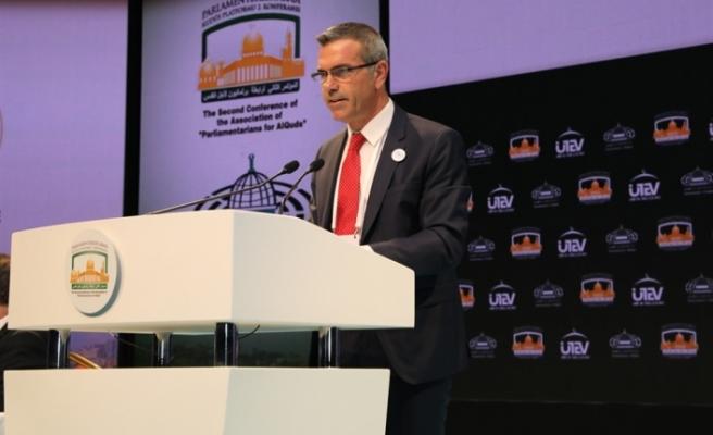 Uluçay, İstanbul'da Kudüs Platformu Konferansına katıldı
