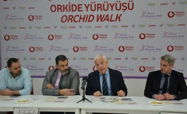 16. Orkide Yürüyüşü 10 Mart'ta Kozanköy'de