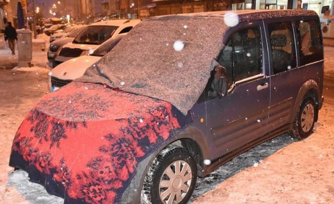 Araçlara battaniyeli koruma